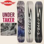 特典あり SIMS SNOWBOARDS シムス UNDERTAKER メンズ レディース スノーボード 板 ウィンタースポーツ