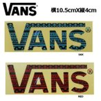 バンズ VANS Sticker FLYING LOGO ステッカー 10.5cm×4cm 2カラー