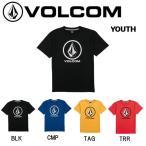 VOLCOM ボルコム 2018春夏 CRISP STONE S/S TEE LITTLE YOUTH キッズ ジュニア 半袖Tシャツ ティーシャツ トップス 3-7歳向け
