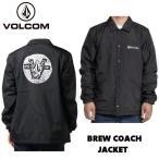ボルコム VOLCOM JPN BREW COACH  JACKET メンズ  コーチ ジャケット アウター S・M・L ・XL ブラック【正規品】