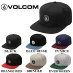 ボルコム VOLCOM 2019秋冬 Quarter Snap Back Hat メンズ スナップバック キャップ 帽子 6カラー