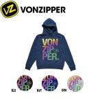 VONZIPPER ボンジッパー BOXED HOODIE メンズプルオーバーパーカー 撥水 長袖 3カラー M-L