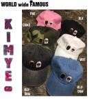 予約受付中 WORLD WIDE FAMOUS ワールドワイドフェイマス KIMYE-GD キャップ 帽子 メンズ レディース 6カラー