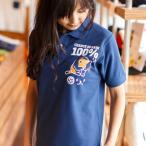 ポロシャツ メンズ レディース 半袖 猫 RAIN 100% -