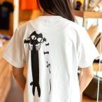 猫 おもしろ かわいい Tシャツ メンズ レディース 半袖 LOVE CAT - ホワイト おもしろ ネコ ねこ 猫柄 雑貨 - メール便 - SCOPY スコーピー
