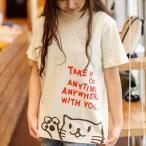 猫 Tシャツ Griper - ナチュラル ネコ ねこ 猫柄 雑貨 SCOPY スコーピー