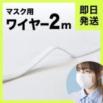 【在庫あり・国内即日発送】マスク 形状保形ワイヤー 2mカット