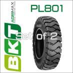 5.00-8 / BKT Tire・PL801フォークリフト用タイヤ 2本セット