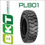 6.00-9 / BKT Tire・PL801フォークリフト用タイヤ 1本