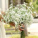 「ファンシー人工ベビーブレス?ジプソウィラシルクフラワーパーティー結婚式のホームデコ」の画像