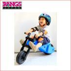Yahoo!716 BABYラングスワイバイク ブルー RANGS JAPAN ラングスジャパン 乗用玩具 三輪車 自転車 バランスバイク 足けり乗用 遊具 おもちゃ 誕生日プレゼント 安全 人気