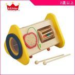 森の音楽会 エドインター Ed.Inter 木製玩具 木のおもちゃ toys ギフト BOX 楽器 たいこ シロフォン ドラム たたく 誕生日プレゼント 知育