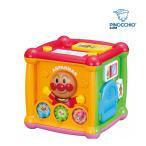 知育玩具 おもちゃ アンパンマン よくばりキューブ ベビー 誕生日 プレゼント お祝い パズル ピアノ スマホ 発達 赤ちゃん