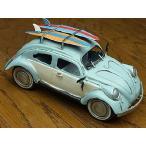 『ブリキのおもちゃ』 アンティーク調 ノスタルジックカー[自動車]キャリーカー/Carrier car(ライトブルー) 【即納】