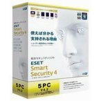 ESET Smart Security V4.2 5PC (PCソフト)
