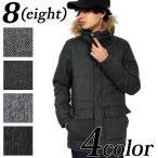 中綿ジャケット メンズ 中綿 ジャケット フード付き ブルゾン モッズコート
