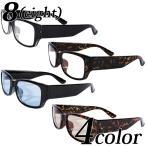 伊達メガネ メンズ レディース 黒ぶち眼鏡 ビッグフレーム スクエア サングラス 専用ケース付き