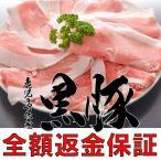 全額返金保証 鹿児島 黒豚 ウデスライス 400g 豚肉 ギフト 産地直送