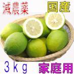 【10月以降分予約】減農薬 国産 レモン 3kg 訳あり 愛媛 瀬戸内 大三島 ore SSS 10g