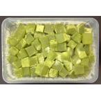冷凍和生菓子 わらび餅(抹茶)1kg×12P(P680円税別)業務用 ヤヨイ