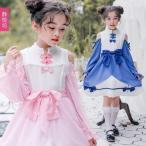 子供ゴスロリ  コスチューム 衣装 コスプレ ロリータ ワンピース