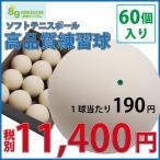 軟式テニスボール練習球 60個(5ダース)ノーブランド高品質