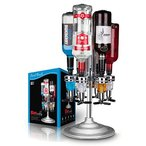 ショッピングFINAL Final Touch 6 Bottle Bar Caddy Liquor Dispenser by Final Touch並行輸入品