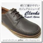 クラークス 靴 メンズ カジュアル CLARKS TRAPELL APORON 818E DBR レースアップシューズ ダークブラウン クラークス新作