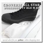 ショッピングconverse コンバース スニーカー レディース ハイカット CONVERSE ALL STAR WORKBOOTS CV RGD M HI ホワイト・ブラック 2017年秋冬新作 人気