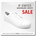 ケースイス スニーカー メンズ ローカット 白 WASHBURN ケースイススニーカーセール ホワイト