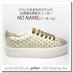 厚底スニーカー レディース カジュアル靴 NO NAME(ノーネーム) 62118 PLATO SNEAKER DOVE/IVORY(ベージュ)