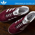 adidas ORIGINALS アディダス オリジナルス GAZELLE ガゼル/ガッツレー マルーン/フットウェアホワイト/ゴールドメット