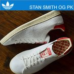 ショッピングアディダス アディダス オリジナルス スニーカー adidas ORIGINALS スタンスミス OG プライムニット STAN SMITH OG PK Rホワイト/Rホワイト/Cホワイト(レッド) 白/赤