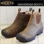 ショッピングkeen KEEN キーン メンズ アンカレッジ ブーツ 2 ANCHORAGE BOOT II ダークアース/シイタケ 1013809 サイドゴア 靴 シューズ