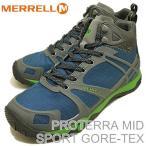 メレル MERRELL メンズ プロテラ ミッド スポーツ ゴアテックス PROTERRA MID SPORT GORE-TEX スカイラブ / グラナイト