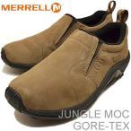 メレル MERRELL メンズ レディース ジャングルモック ゴアテックス JUNGLE MOC GORE-TEX ダークアース DARK EARTH 靴 スニーカー・シューズ スリップオン
