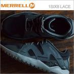 メレル 1SIX8 LACE MERRELL メンズ スニーカー 1シックス8 レース ブラック/ブラック 49927 シューズ