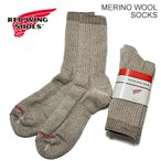 レッドウイング RED WING レッドウィング Full Crew/Merino Wool Socks フル・クルー/メリノ・ウール・ソックス KHAKI カーキ