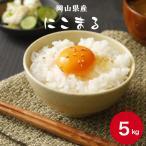 お米 5kg 岡山県産にこまる 5kg(5kg×1袋) 令和元年産 送料無料 セール 単一原料米 白米 ※北海道・沖縄の方別途756円かかります