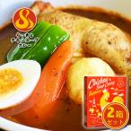 送料無料 北海道 札幌スープカレー  らっきょ チキンカレー 2個セット
