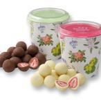 六花亭 ストロベリーチョコセット ホワイト&ミルクチョコ 130g×2 北海道 お取り寄せ 人気商品 お菓子 贈り物 ご挨拶 定番 手土産  ホワイトデー