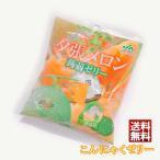 送料無料 JA夕張市 こんにゃくゼリー 夕張メロン味 10袋セット 北海道お土産 蒟蒻使用 フルーツゼリー
