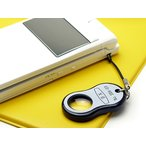 ≪メール便(¥100)対応≫《便利ルーペ》  クリアー光学 豆型・携帯ストラップルーペ Lk-9 (9倍×15mm) (ルーペ 拡大鏡 虫めがね)