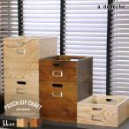 木製 ボックス 収納  『プロック DIY クラフト ワーク ドロワー LLサイズ』引き出し 箱 収納ボックス ケース おしゃれ DIY 組み立て 蓋なし