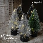 クリスマスツリー 卓上 『クリスマス LEDミニツリー Bタイプ』 北欧 Xmas ミニ クリスマス装飾 おしゃれ 北欧インテリア シンプル aw