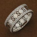 GUCCI 201938-J8540-9040 グッチ K18WGリング 18金ホワイトゴールド×ダイヤモンド