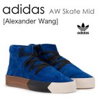 adidas by Alexander Wang AW Skate Mid Blue アディダス AC6849