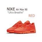 NIKE AIR MAX 90 Ultra Breathe  レッド エアーマックス90 725222-800