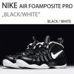 NIKE AIR FOAMPOSITE PRO BLACK WHITE 624041-006 ポジット プロ ブラック