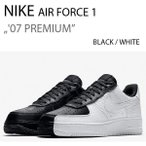 NIKE AIR FORCE 1 '07 PREMIUM BLACK/WHITE エアフォース 1 905345-004